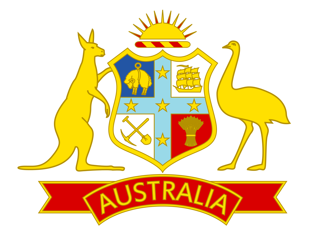 Australia cricket logo svg