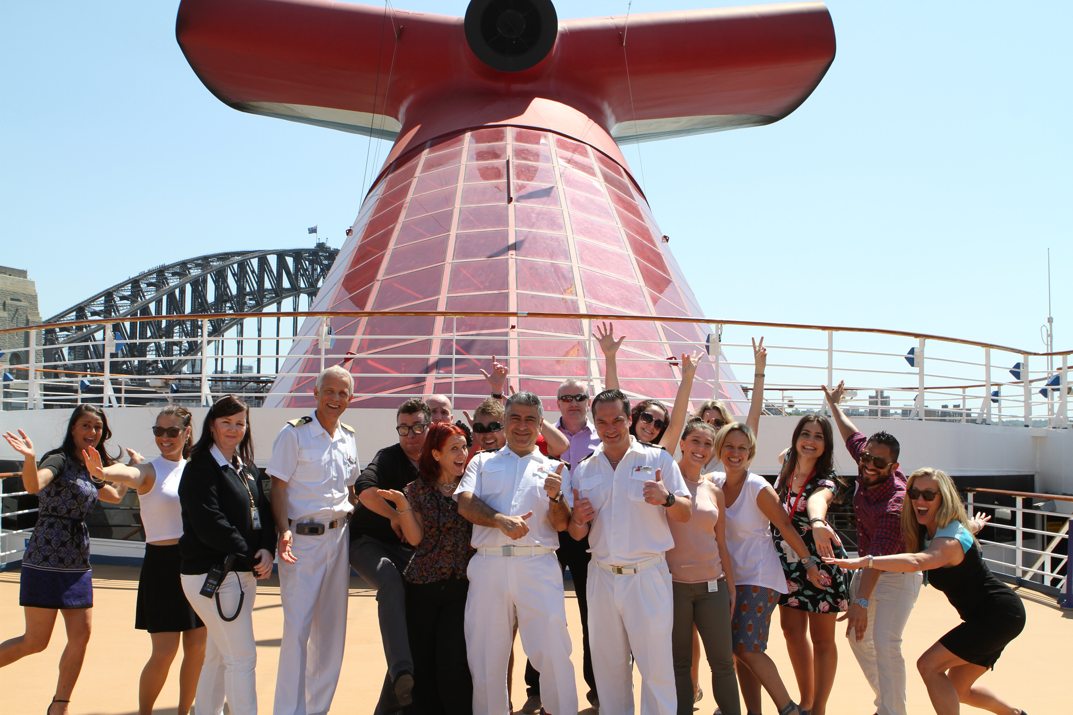 Carnival Legend Arrives back in Sydney for Summer