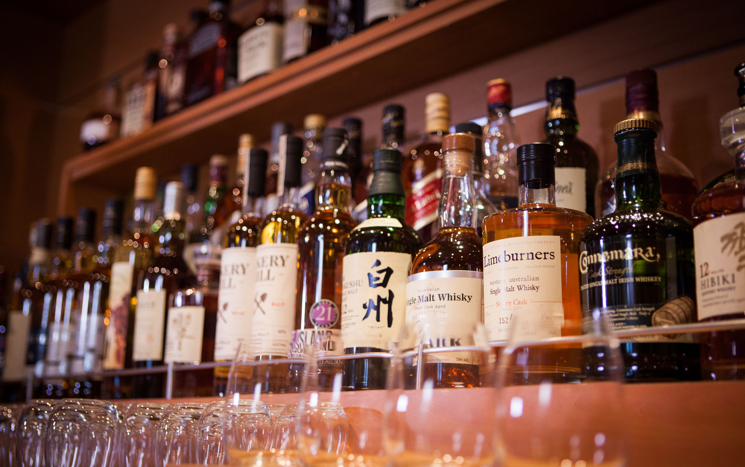 Dawn Princess Whisky Bar selection email