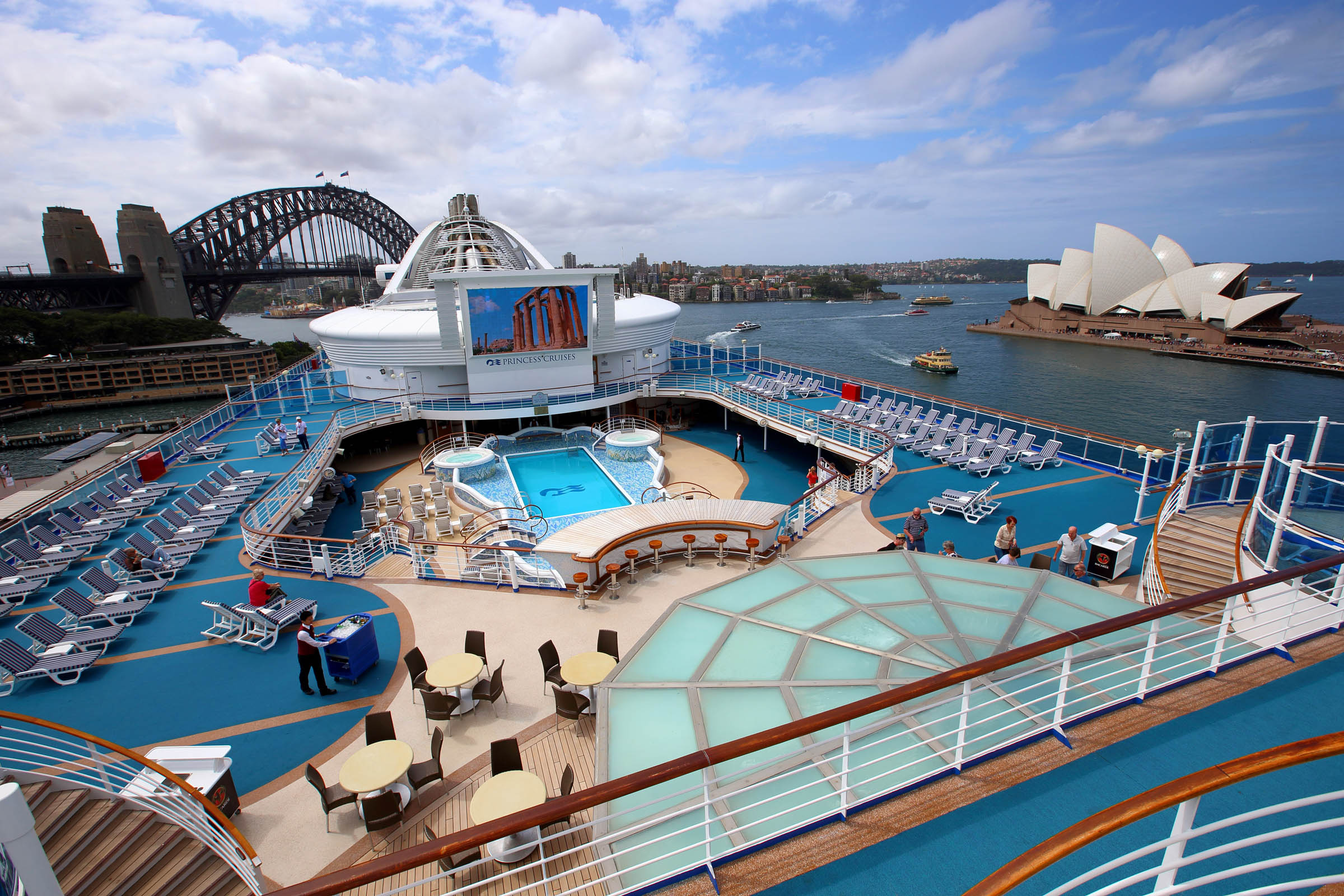 Golden Princess maiden Sydney visit October 18 2015 email