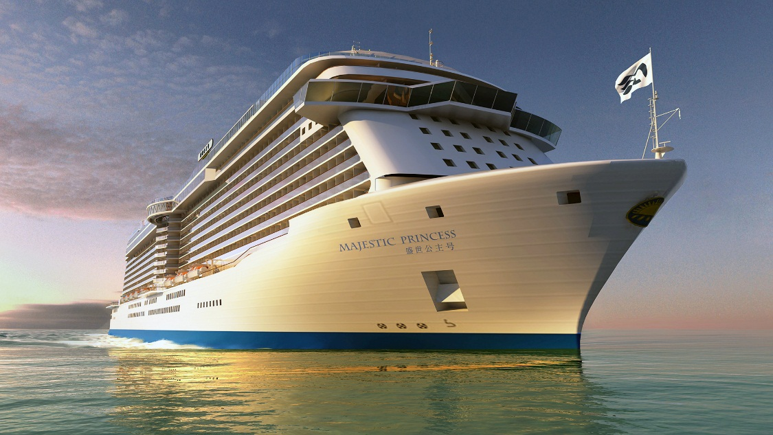 Princess Cruises China based Ship Majestic Princess