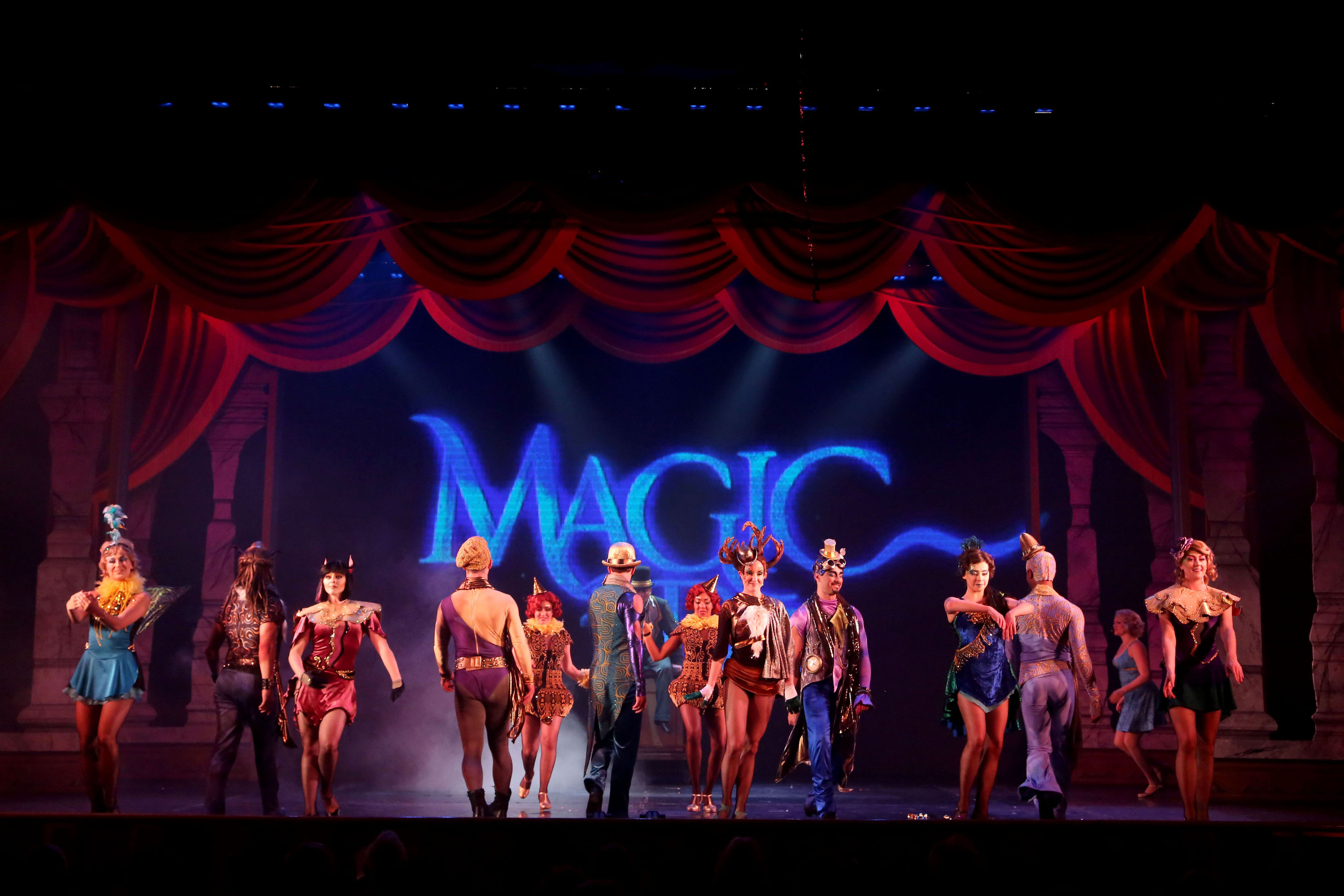 Princess Cruises Magic to Do scene onboard Crown Princess