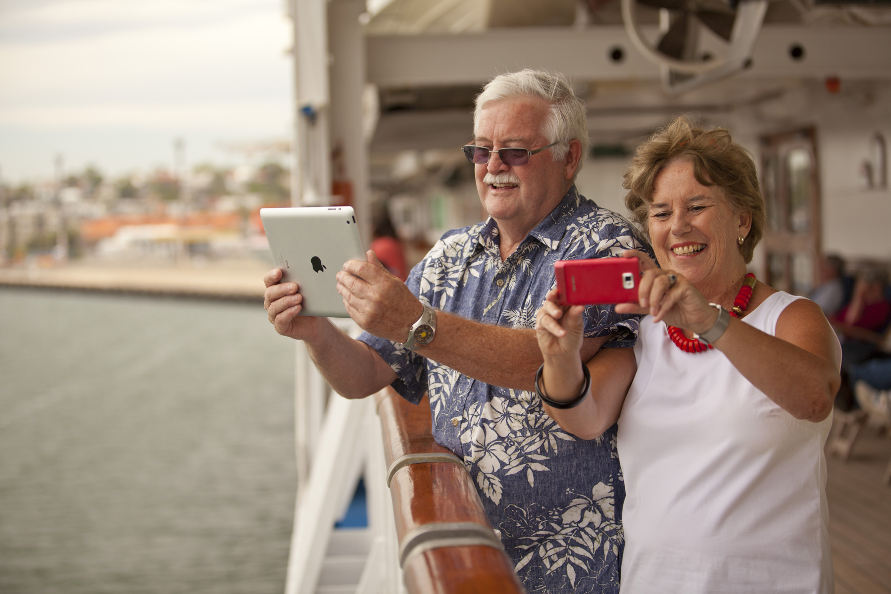 Princess Cruises Passengers Terry and Margaret Malone