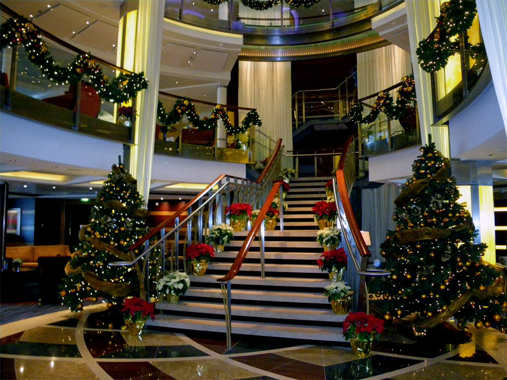 christmas cruise ship